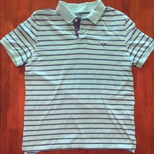 *FINAL PRICE* EUC American Eagle polo